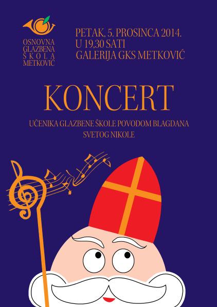 Plakat sveti Nikola