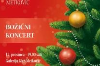 Božićni koncert učenika OGŠ Metković